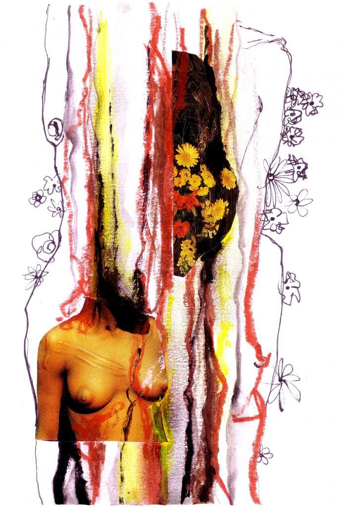 Buste à fleurs